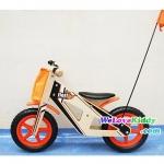 รถจักรยานเด็กเล่นทรงตัว 2 ล้อ รุ่น รถแข่ง : แบบไม้ รหัส CV001