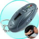 เมาไม่ขับ แล้วรู้ได้ไงว่าไม่เมา!! พวงกุญแจเครื่องวัดแอลกอฮอล์อีเลคทรอนิกส์ สำหรับผู้ชอบสังสรรค์กลางคืน แล้วต้องขับรถ - Alcohol Tester Key Chain