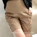 กางเกงคลุมท้องขาสั้น สีกากี : Size L รหัส PN019