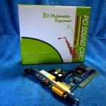 PCI Sound Card เสียง 5.1 ระบบเสียง C3DX