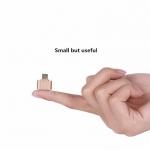 OTG Adapter USB -Gold อุปกรณ์แปลงพอร์ต USB แบบ OTG ที่มาในดีไซน์อันทันสมัยเพิ่มความสะดวกสบายในการพกพา และใช้งานด้วยการออกแบบให้ปลายข้างหนึ่ง เป็น พอร์ต USB เพื่อรองรับการเชื่อมต่อข้อมูลกับอุปกรณ์ต่อพ่วง