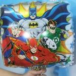 ลูกโป่งฟลอย์การ์ตูน Super Hero ทรงสี่เหลี่ยม - Super Hero Square Shape Foil Balloon / Item No. TL-A126