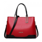 กระเป๋าแฟชั่นเกาหลีพร้อมส่ง รหัส SUIF0119RD สีแดง แบบสวยค่ะ