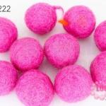 ลูกบอล Feit 25มิล #1 สีชมพู(5ลูก)