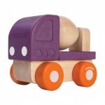 ของเล่นไม้ ของเล่นเด็ก ของเล่นเสริมพัฒนาการ Mini Cement Truck รถผสมปูนมินิ (ส่งฟรี)