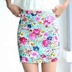 Chic Chic Floral Skirt
