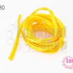 เชือกผ้า ไส้ไก่ สีเหลือง (1เส้น/2เมตร)