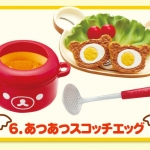 Re-ment Miniature Sanrio San-X Rilakkuma Breadfast Kitchen Eggs Set # 6