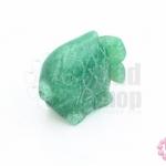 หินหยกเขียว ปลาตะเพียน 39X39มิล(1ชิ้น)