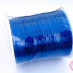 เอ็นสำหรับทำ Tattoo Choker สีฟ้า เบอร์ 0.50 (1ม้วน)