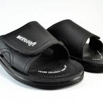 รองเท้าหนัง Aerosoft 4159 ดำ