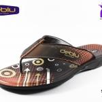 รองเท้าเพื่อสุขภาพ DEBLU เดอบลู รุ่น M7714 สีส้ม เบอร์ 39-44