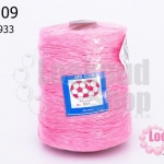เชือกเทียน ตราลูกบอล(ม้วนใหญ่) สีชมพูอ่อน 933 (1ม้วน)