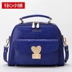 กระเป๋า Axixi พร้อมส่ง รหัสNM12001 สีน้ำเงิน ลายหนังจรเข้ ดูดีค่ะ