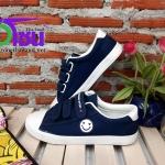รองเท้าผ้าใบแฟชั่นเกาหลี สีกรม รุ่นB232 เบอร์36-39