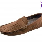 รองเท้าหุ้มส้น Fashion แฟชั่น รุ่น MM819 สีน้ำตาล เบอร์ 41-44