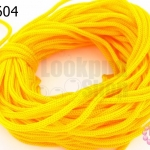 เชือกร่ม สีเหลืองทอง (1มัด/20กรัม)