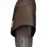 รองเท้าหนัง Aerosoft 4145 น้ำตาลขลิบดำ