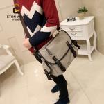 กระเป๋าผู้ชายพร้อมส่ง รหัส RM573S สีกากี