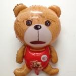 ลูกโป่งฟลอย์ จากภาพยนต์เรื่อง Teddy เท็ดดี้ - Teddy Bear The Movie Foil Balloon / Item No. TL-B016