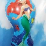 ลูกโป่งฟอลย์ เจ้าหญิงแอเรียล - Little Mermaid Foil Balloons / Item No.TL-A137