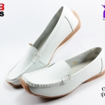 รองเท้าแฟชั่นหุ้มส้น CSB ซีเอสบี รุ่น LK92-541 สีขาว เบอร์ 36-40