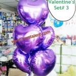 วาเลนไทน์ Valentine's Set # 3 *สามารถเลือกเปลี่ยน สีได้ตามความต้องการ*