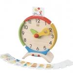 ของเล่นไม้ ของเล่นเด็ก ของเล่นเสริมพัฒนาการ Activity Clock (ส่งฟรี)