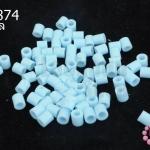 เม็ดบีทรีดร้อน สีฟ้าอ่อน 5 มิล (1ขีด/1,820ชิ้น)