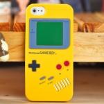 ** พร้อมส่งค่ะ ** เคส iPhone 5/5S/5se ลายGameboy สีเหลือง