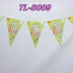 ธงประดับงาน Happy Birthday / Item No. TL-S009