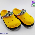 รองเท้า แอ๊ดด้า เด็ก ADDA รุ่น 52804-B1 สีเหลือง เบอร์ 8-3