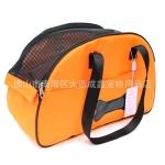 กระเป๋าสะพายน้องหมาลายกระดูกสีส้มไซด์ M