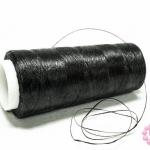 เชือกเทียน ด้ายเย็บ สีดำ #5002 (1ม้วน)