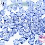 คริสตัลสวารอฟสกี้ (SWAROVSKI)สีม่วงเข้มใส(539) 4มิล(100เม็ด)