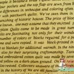 ผ้าคอตตอนญี่ปุ่น ลายตัวอักษรภาษาอังกฤษ ของ Lecien Vintage Collection สีครีม เนื้อบาง ค่ะ