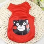 เสื้อกล้ามหมีแดงไซด์ S M L XL XXL