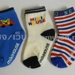 ถุงเท้ากันลื่น Mikihouse 11-13 ซม. MSH04