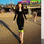 ชุดว่ายน้ำแขนยาว กางเกงขายาว