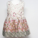 เสื้อผ้าเด็ก ชุดเดรส ชุดกระโปรงสำหรับเด็กผู้หญิง Spring Leaves (ส่งฟรี)