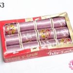 ด้ายเย็บผ้า ตราVENUS สีม่วงอมชมพู (1กล่อง/12ม้วน)