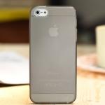 ** หมดค่ะ ** เคส iPhone 5 Cover สีดำใส