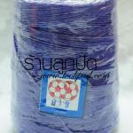 เชือกเทียนตราลูกบอลสีม่วงอ่อน ม้วนละ 170 บาท 600 หลา (919)
