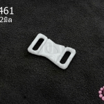 ตะขอเกี่ยว พลาสติก สีขาว 13X22มิล(1ชิ้น)