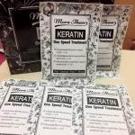 More Then Keratin One Speed Treatment มอร์แดน เคราติน วันสปีดทรีทเม้นท์ (กล่อง) ราคาปลีก 200 บาท / ราคาส่ง 160 บาท