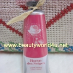 L'occitane VELVET HAND CREAM ROSE 4 REINES 30 ml. (ลดพิเศษ 30%)