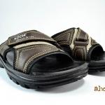 รองเท้าแตะลำลอง Adda 7FH12 สีดำ-น้ำตาล 39-43
