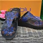รองเท้า Deblu เดอบลู รุ่นL9201 สีน้ำเงิน เบอร์ 36-41