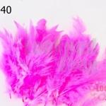 ขนนก(ก้าน) สีชมพู (20 ชิ้น)