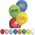 ลูกโป่งยางพิมพ์ลายโลโก้ โปรโมทสินค้า - Printing Logo on Latex Balloon (ขั้นต่ำ 100 ใบ)